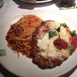 Chicken Parmesan - Chicken was good, but the pasta was overcooked