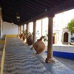 Obidos Village: Nice Yard