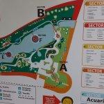 Entrada parque mapa para guianza