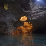 One of the cenotes with bats!