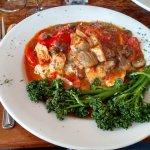 Chicken and artichoke special. Delicious!