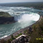 Horseshoe Falls from the Skylon Tower.