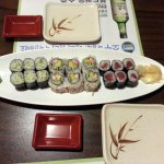 the sushi lunch special - perfect amount, perfectly priced
