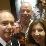 My wife and I with Teller.