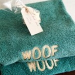 Dog towels provided (and treats)