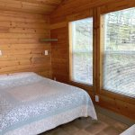 Deluxe Studio cabin. Sleeps up to 4. Main room will have either Full XL or Queen bed.