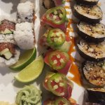 Spicy Tuna, Mexican and Spider Rolls