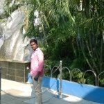 in front of Zoo