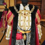 Henry VIII costume exhibition