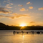 Sunset on Mamora beach
