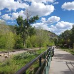 Animas River Trail behind property