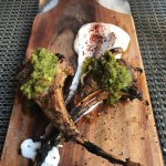 Lamb chops, simply perfect
