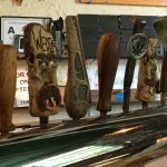 Tap handles made by local Artists