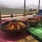Tangine lunch at the Berber farmhouse