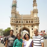 We're in front of Charminar