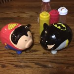 Loved the Superman and Batman pigs