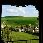 Tuscan view from our Granary Suite.