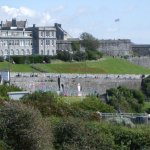 Plymouth Citadel from the Hoe