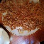 Fried tiny shrimps
