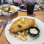 My lemon sole and chips