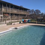 Relax and enjoy scenic views from our outdoor pool area.