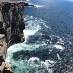 The Cliffs of Moher, Of all the places in the world, Ireland is very safe and very beautiful.