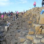 The Giant's Causeway, A geologist Major's dream, stunning history of the country with the Basalt