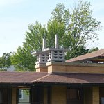 Wright's Darwin Martin House - Chimney Design
