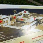 Wright's Darwin Martin House Complex - model map
