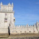 Tower of Belem on a beautiful sunny day in May 2017