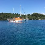 Mljet is a relaxing location with good food and reasonable prices at hotel Odisej