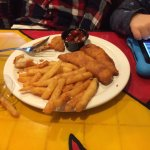 Hard to go wrong with chicken fingers and fries