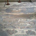 Photo of Madaba Mosaic Map