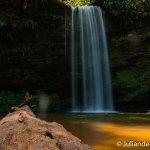 Cachoeira do Evilson. Ótima para banho!