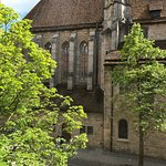 Medieval Franciscan Church across the street