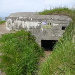 A variety of bunkers were built for a variety of activities. Eerie. . .