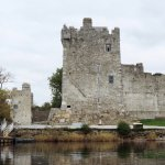 arriving at Ross Castle by water...