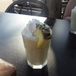 Pina Colada hit the spot on a hot afternoon!