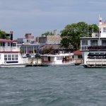 the boats of Lake Geneva Cruise Line