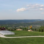 cliff-top wedding sight, with a marvelous view