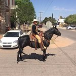 Riding into Tombstone