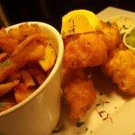 Fresh Cornish Hake Goujons and Chips