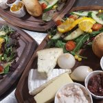 Trio of Westcountry Cheese Ploughmans with our Homemade Chutneys