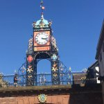Clock Tower along the Chester walls