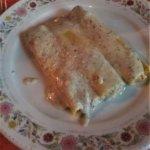 Cannelloni zucca salsiccia e salsa tartufata