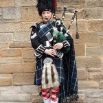 A typical bagpiper