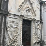 The timeless beauty of the cemetery that surrounds the church