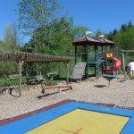 Der Kinderspielplatz im Aussenbereich