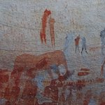 San Höhlenmalereien