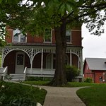 The Kurt Vonnegut house is visible from the Brown Street Inn.